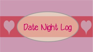 Date Night Log